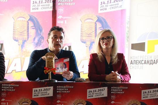 Радиските хитови на годината ќе се прогласуваат на 10-иот МАРС на 14 ноември во МОБ