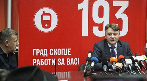 """Градоначалникот на Скопје подготвен за акција: Шилегов откри кој """"пали"""" по Скопје… на отворено!"""