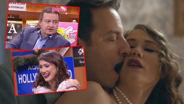 """И министерот и водителот би малку… Еве како реагираа Ивица Дачиќ и Јана Стојановска кога Огнен Амиџиќ им ја пушти бруталната секс сцена од """"Сенки на Балканот"""" (ФОТО+ВИДЕО 18+)"""