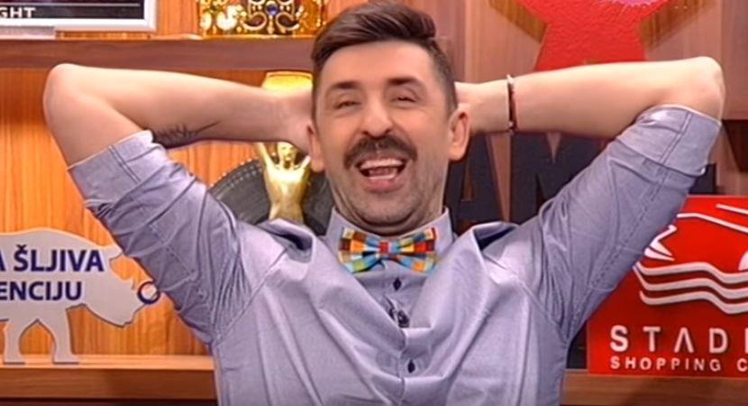 Водел емисија во пижами: Еве како изгледаше Огнен Амиџиќ на почеток на кариерата! (фото)