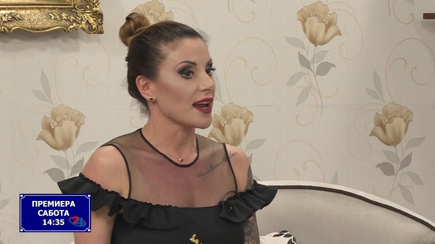 """Сузана Гавазова во најновото издание на шоуто """"Улица Македонија"""" на ТВ 24 (ВИДЕО)"""