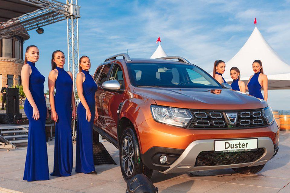 """Блескавата национална награда """"Автомобил на годината"""" официјално доделена на брендот DACIA за моделот DUSTER"""