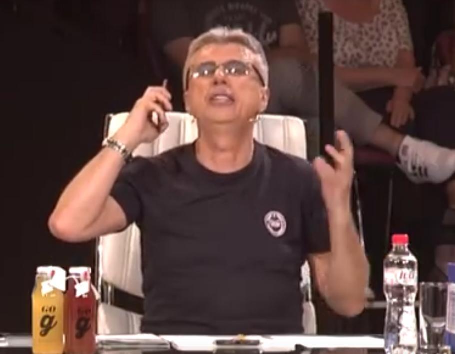 """Лудница во студиото: Директорот на """"Гранд"""" стимулираше секс среде емисија (видео)"""