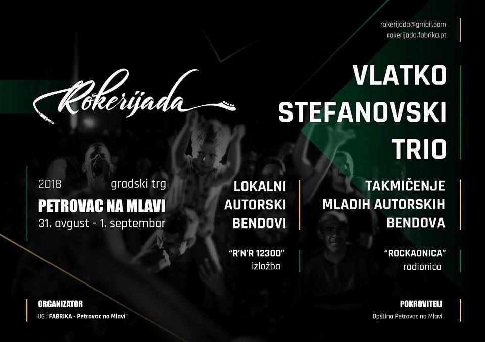"""Влатко Стефановски трио на """"Рокеријада 2018"""" во Србија"""