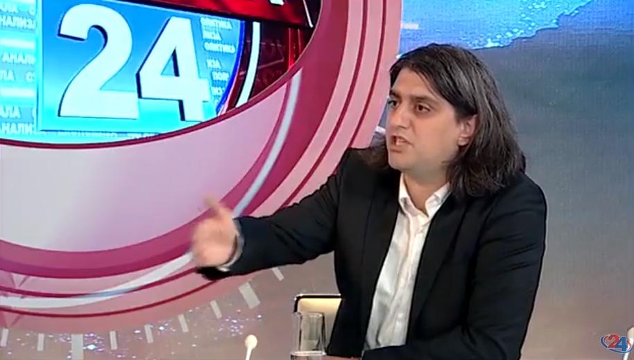 Ја утнал емисијата или… Мухамед Зекири на политичка дебата дојде во копачки! (ФОТО)