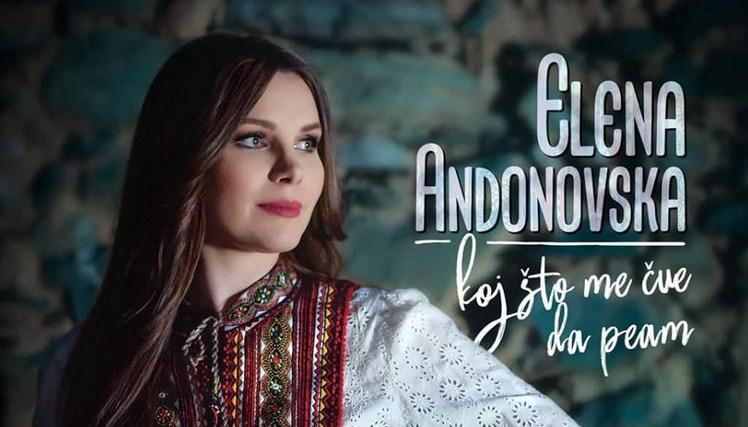 """Елена Андоновска е """"Босо моме"""" со порака – """"Кој што ме чуе да пеам"""" (ВИДЕО)"""