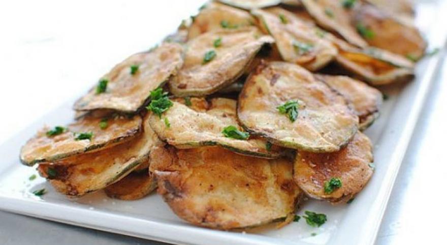 Здраво и вкусно мезе: Чипс од тиквички