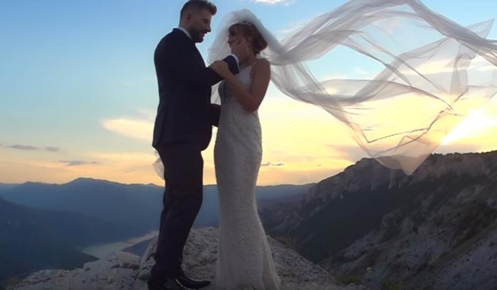 """""""Данас је љубав побједила"""" – Јоце Панов доби и свадбен спот од денот кога ја прослави љубовта со Марина (ВИДЕО)"""