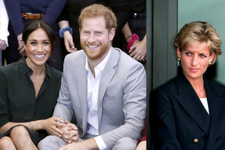 """Блиска пријателка на принцезата Дајана открива: """"Хари и Меган Маркл ќе се разведат за три години"""""""