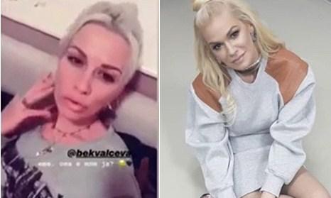 Како клонирани: Македонската ТВ водителка и новосадската барбика се како сестри близначки (ВИДЕО)