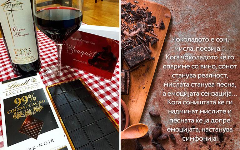 Водич за спарување чоколадо и вино