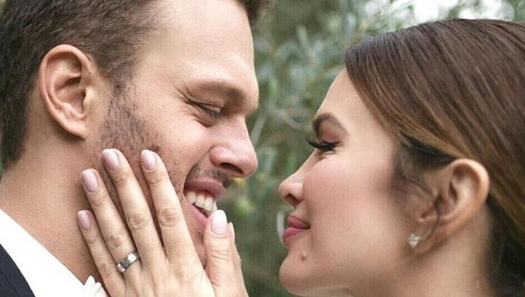 """Северина на Инстаграм објави невидена снимка од нејзината """"српска свадба"""" (видео)"""