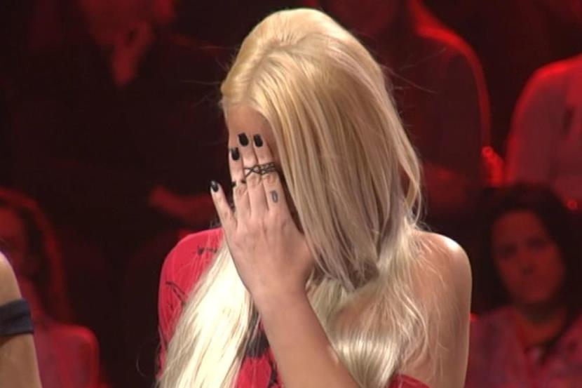 """Адереналинот и тремата ја срушија: Натпреварувачка се расплака во """"Ѕвездите на Гранд"""", а по неа во плач и Карлеуша (фото)"""