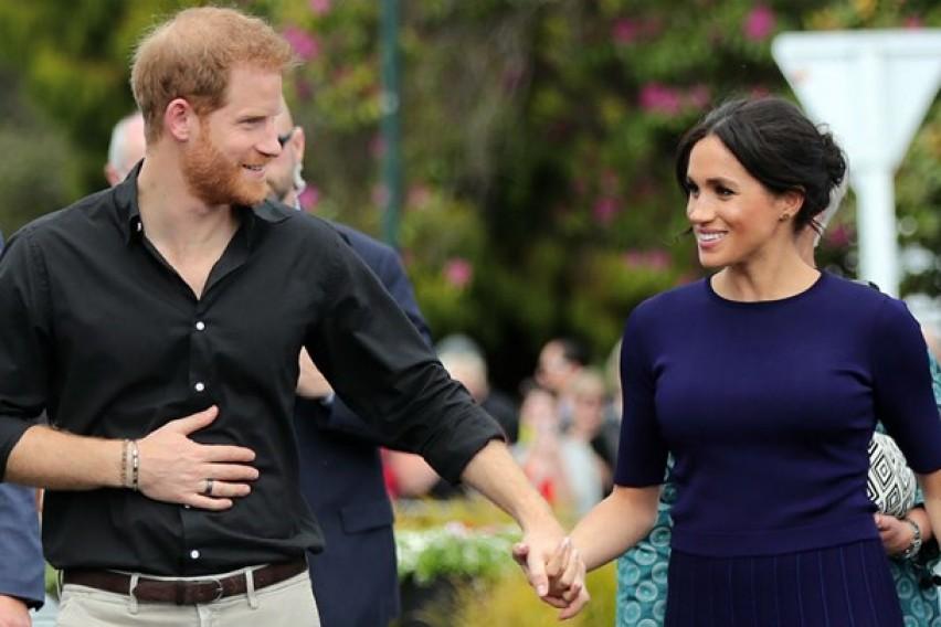 Meган Маркл и принцот Хари објавија невидена фотографија од венчавката (фото)