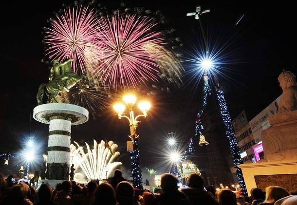 Каде за Нова година во Скопје?