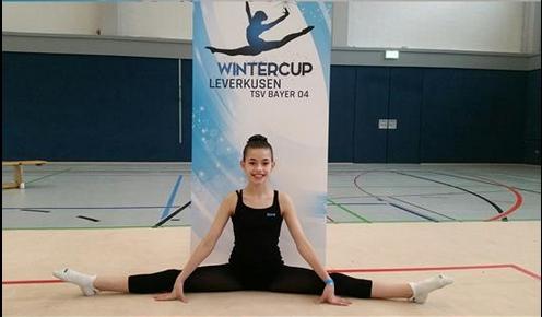 Германците го препознаа квалитетот: Малата Илина Соколовска – македонски талент во ритмичка гимнастика