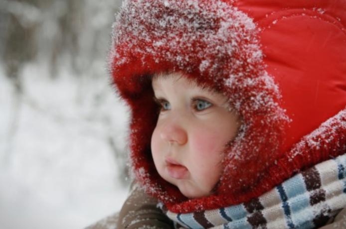 Бебињата не треба да се премногу облечени во зима