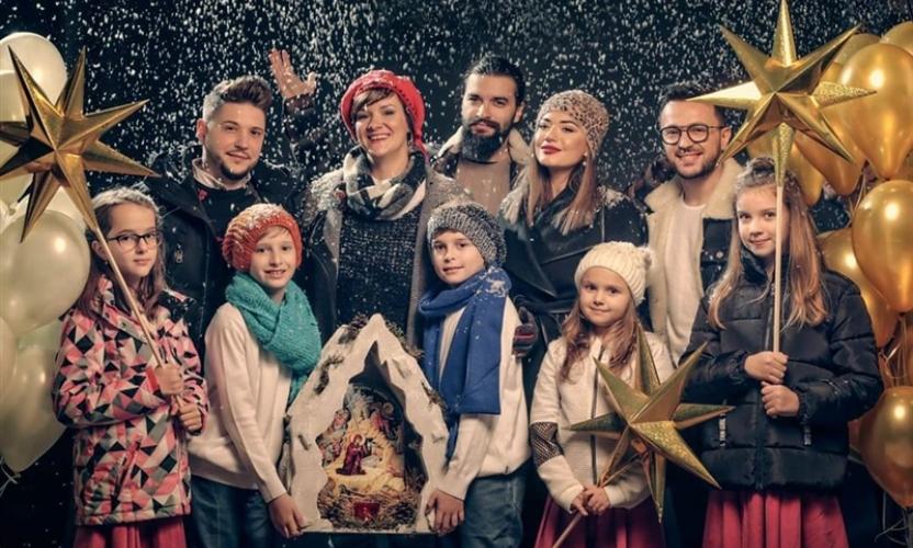 """""""Небо и земја"""": Најубавата македонска божиќна честитка за 2019 година е тука (видео)"""
