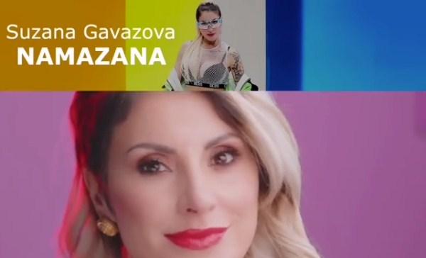 """Сузана Гавазова е доволно """"Намазана"""" за да биде повеќе од запазена (ВИДЕО)"""