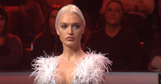 """Вики Миљковиќ се фати за глава: Марина Тошиќ направи хаос во """"Ѕвездите на Гранд"""" (видео)"""
