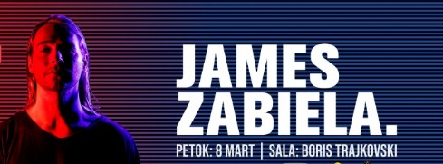 DJ James Zabiela во Скопје!
