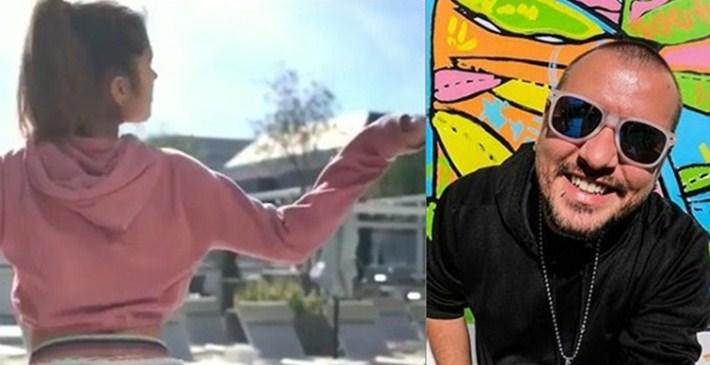 """Чикашкиот камионџија со ново видео: Дарко Јефремов ќе ви покаже како изгледа кога Американка стои """"во лер"""", а """"врти"""" српско коло (ВИДЕО 18+)"""