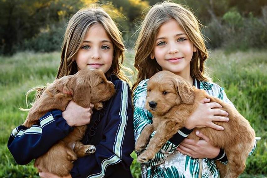 Најубавите близначки на светот имаат 9 години и 1,1 милион следбеници на Инстаграм