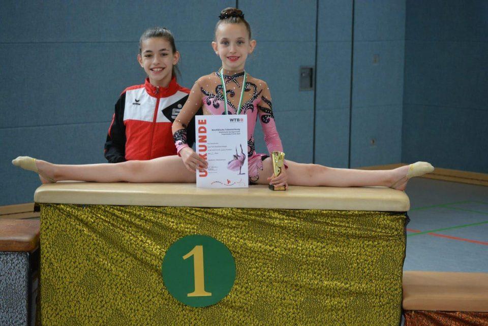 Единаесетта победа на Ева Соколовска во ритмичка гимнастика во Германија