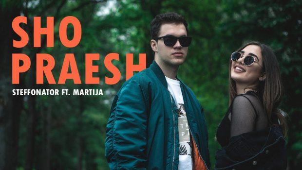 """Најпопуларниот македонски јутјубер Стефанатор ја одбра Мартија за своето музичко сефте – """"Шо праеш?"""""""