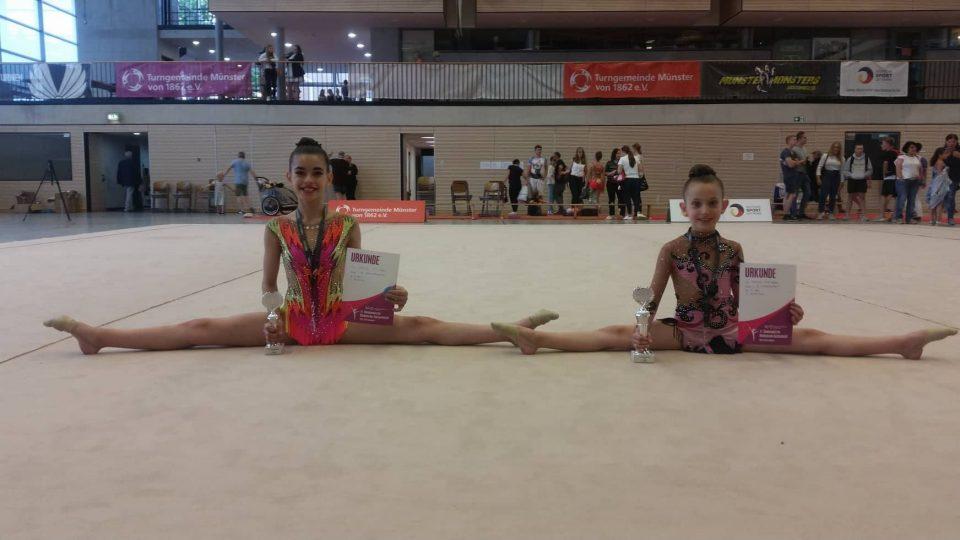Сестрите Соколовски и оваа сезона се едни од најдобрите во ритмичка гимнастика во Германија