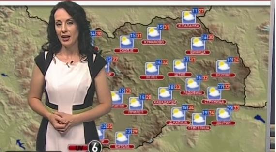 Наташа Алексоска секогаш ја гледате закопчана до грло, а вака изгледа презентерката на временската прогноза на МТВ, на плажа во бикини (ФОТО)
