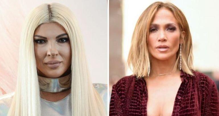 Јелена Карлеуша и Џенифер Лопез се облекоа во исто – на која подбро и стои?