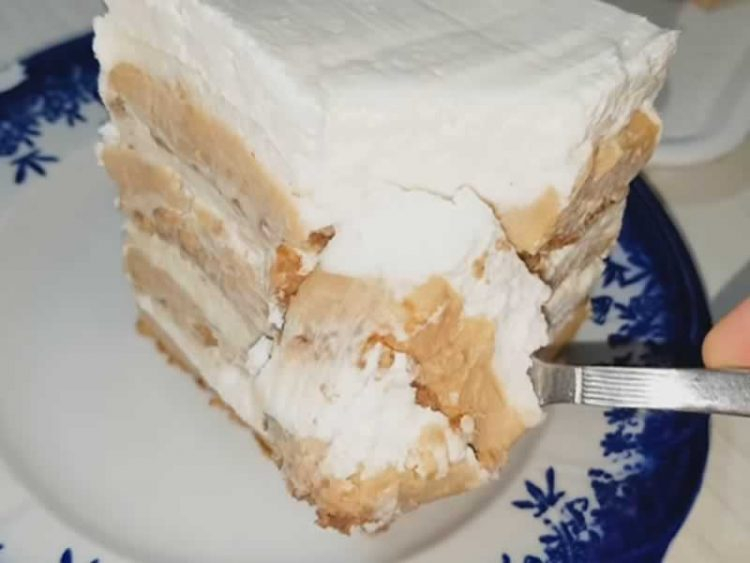 Сладолед торта со пудинг- Десерт за врелите денови