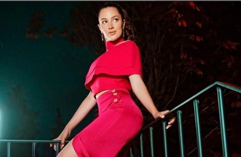 Без градник во ултра кусо фустанче: Пријовиќ во опасно секси издание (фото)