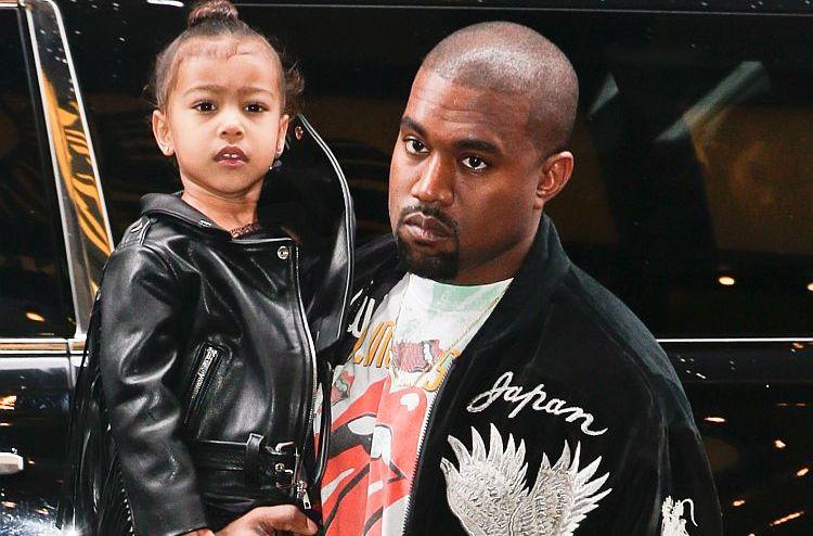 Кање Вест со строга забрана за неговата шестгодишна наследничка