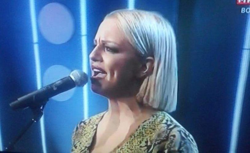 """Цела сала пееше заедно со Тамара на """"Макфест"""", а таа со солзи во очите! (фото)"""