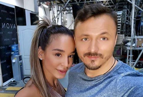 """По скандалот во """"ТЛЗП"""", познатата српска пејачка му се """"залепи"""" на Кајмакоски: """"Важно е дека се сакаме"""" (фото)"""
