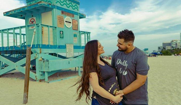 Се породи сопругата на македонскиот пејач: Дарко Илиевски стана татко за првпат (фото)