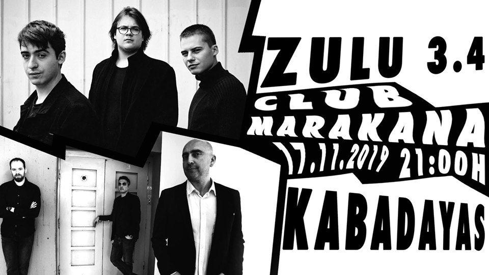 """Концерт на """"Кабадајас"""" и """"Зулу 3.4"""" во клуб """"Маракана"""""""
