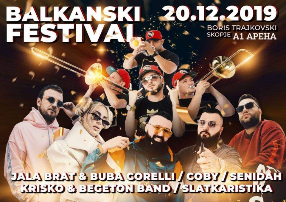 Спектакуларен крај на скопската концертна сезона со Балкански Фестивал во декември