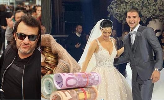"""Аца Лукас има """"лесна рака"""", а не """"змија во џебот"""" како некои: Пејачот даде """"најдебел плик"""" со евра на свадбата на синот на Цеца (ВИДЕО)"""