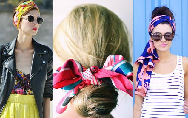 Како да носите марама во коса и да изгледате стилски за секоја пригода