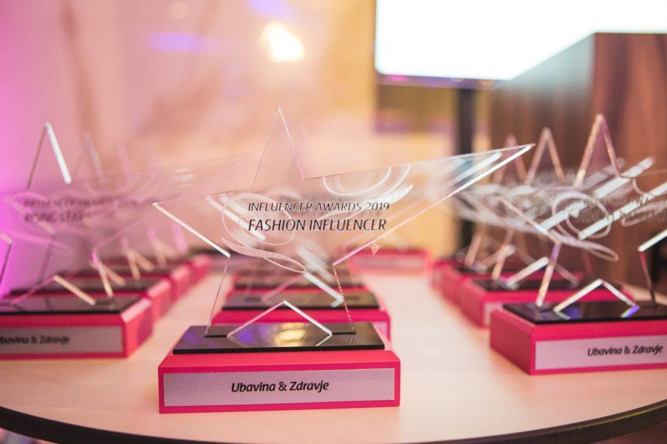 "Инстаграм ѕвездите блеснаа на првите македонски ""U&Z Influencer Awards""  (ФОТО)"