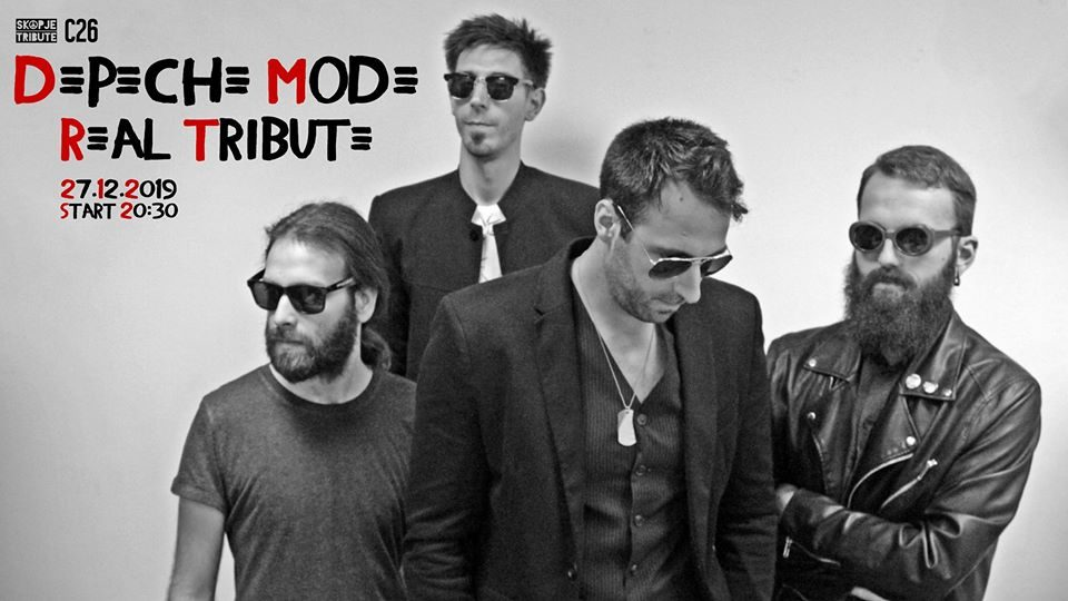 """Depeche Mode Real Tribute"" во Скопје"