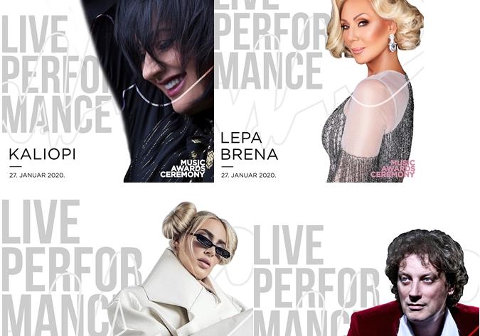 Калиопи заедно со Лепа Брена, Сенидах, Тончи Хуљиќ… ќе настапува на MAC