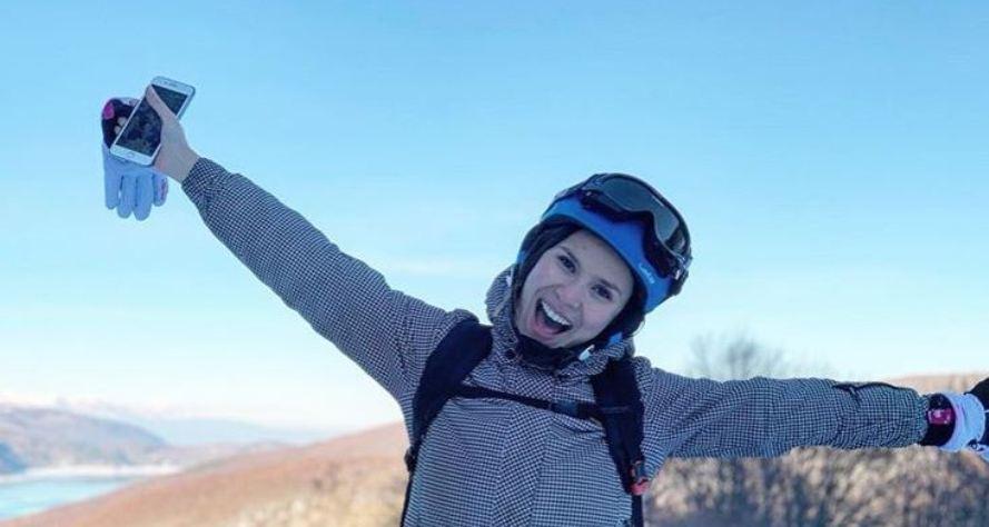"""""""Честито да ми е"""": Сара Мејс сама си поласка на """"Инстаграм"""", па се пофали што направила"""