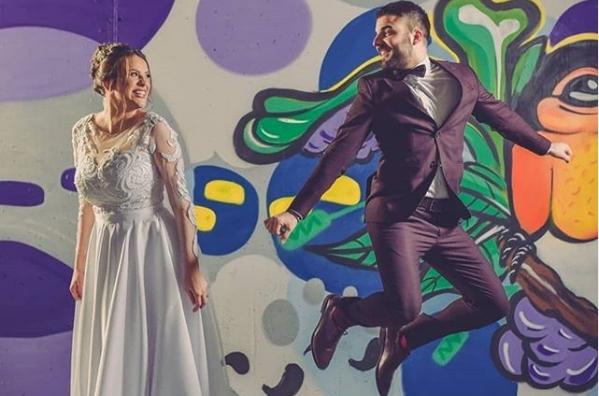 """Се ожени Војче Петрушев од групата """"Маестро"""": Свадбено """"шоу"""" на хармоникашот! (ФОТО+ВИДЕО)"""