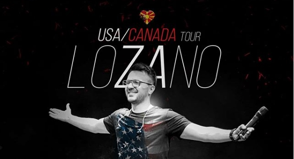 """Влатко Лозаноски со концерти низ САД и Канада: """"Километри ќе брои, за турнеја што се памти"""" (ФОТО)"""