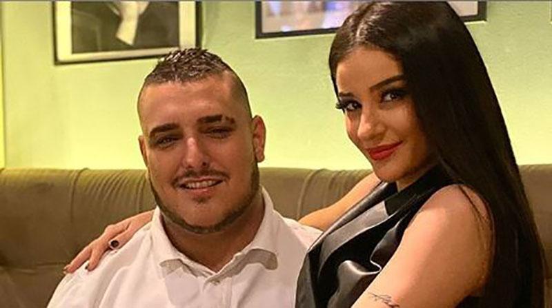 """Свршеницата на Лазиќ проговори за свадбата со пејачот: """"Дарко, едвај чека да му кажам """"да"""""""