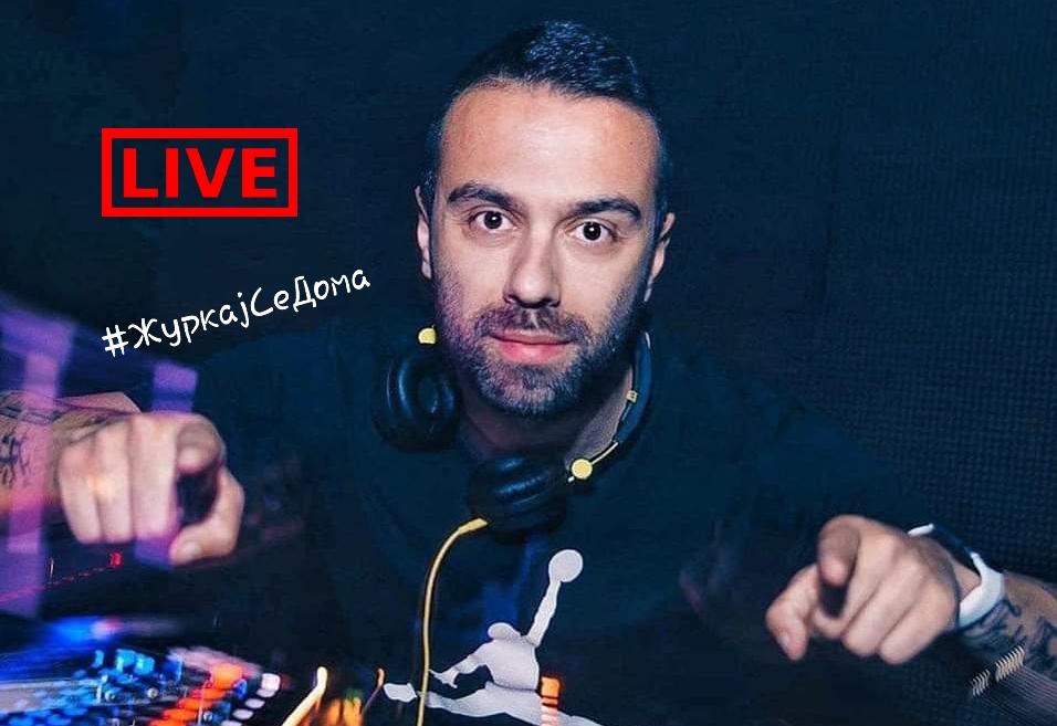 #ЖуркајСеДома: Dj Mats и Dj Ride Mike со онлајн забава го сплотуваат народот во Македонија и Србија